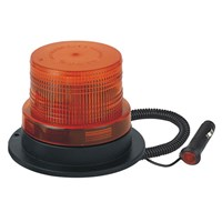 Low Profile LED Amber Beacon 3 Bolt 10-110V