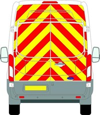 Ford Transit Full Chevron Kit (2014 - 2020) (High roof H3) Engineering Grade