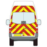 Volkswagen Crafter Full Chevron Kit withh Window cut-outs (2006 - 2019) (High / Super High Roof) Flooded Engineering Grade