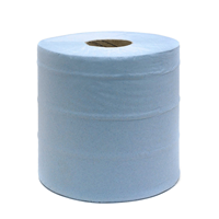 Large Blue Paper Roll 2 ply 400M x 28cm Pack of 2