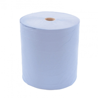 Wide Blue Paper Roll 3 ply 300M x 37cm