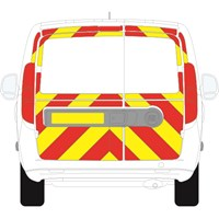 Fiat Doblo Full Chevron Kit with Window cut-outs (2010 - 2020) Engineering Grade