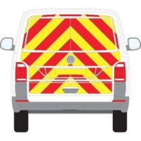 Volkswagen Transporter T6 Tailgate Full Chevron Kit (2016 - 2019) Engineering Grade