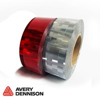 Avery Dennison Vtec Conspicuity Tape Red 12.5M